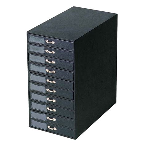 shop for black leatherette jewelry tray storage tower