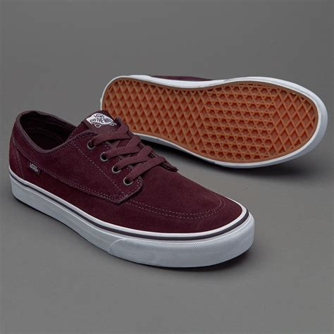 Sepatu Vans Yang Original sepatu sneakers vans brigata iron brown