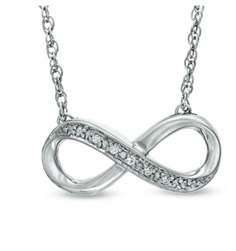 zales accent infinity necklace 24 99 from 119