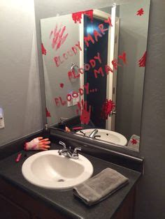 bloody mary in the bathroom mirror halloween on pinterest