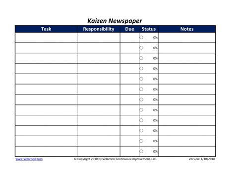kaizen template images reverse search