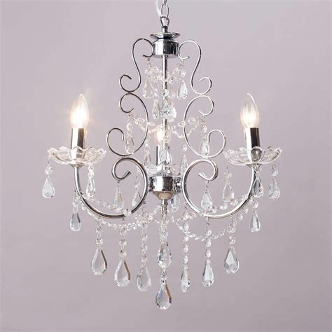 Lighting And Chandeliers Chandelier Madonna 3 Light Dual Mount Chrome From Litecraft