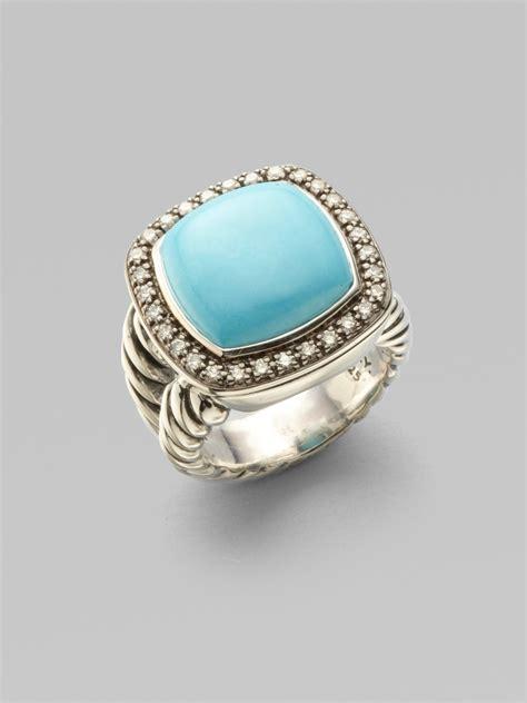 david yurman turquoise sterling silver ring in