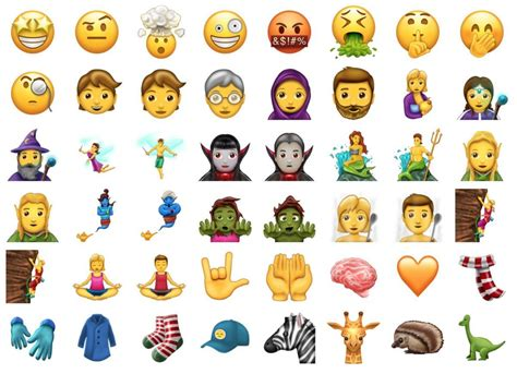 emoji new 69 new emoji have been approved by unicode