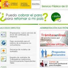 oficina virtual del inem mis post its part 7