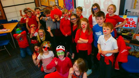 nose day dunbar primary school