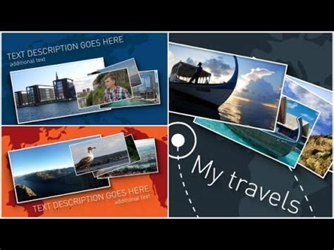 Light Travel Map Slideshow After Effects Template Youtube Travel Slideshow After Effects Template