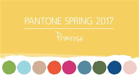 what is the color of 2017 pantone colors 2017 primrose yellow hm etc