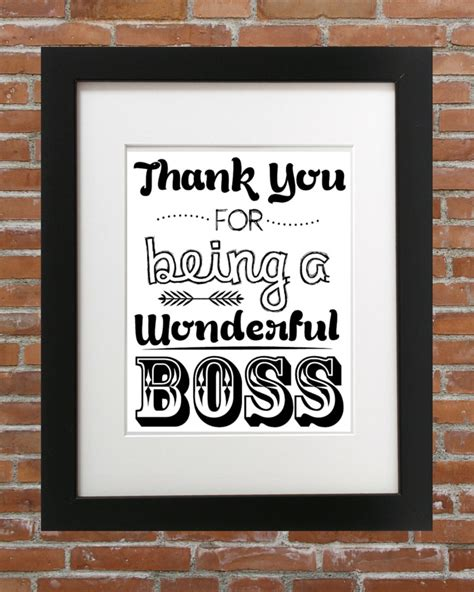 gifts for bosses for thank you for being a wonderful for your gifts