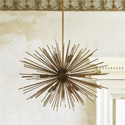 Starburst Ceiling Light Starburst Chandelier Lighting Graham And Green