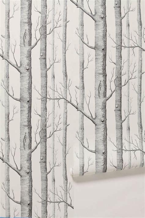 wallpaper grey trees courtney lane patterned wallpaper de gournay