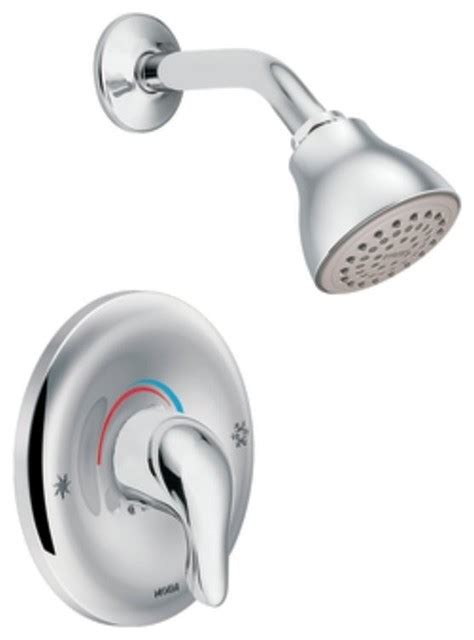Moen TL182 Chateau Posi Temp Single Handle Shower Faucet Trim in Chrome   Traditional