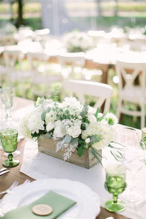 green and decorations 17 best ideas about green wedding centerpieces on