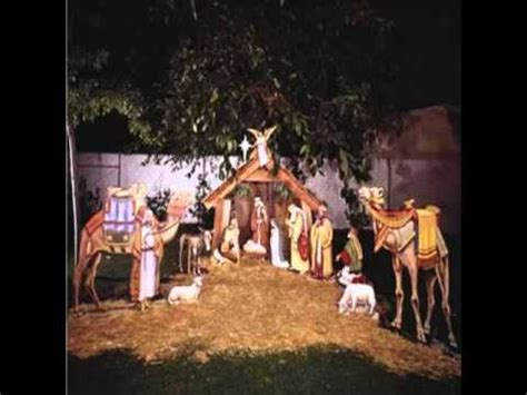 outdoor christmas decorations nativity youtube