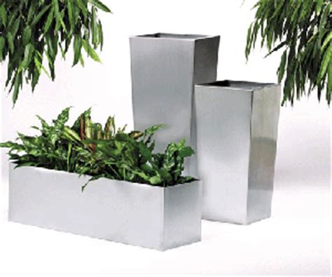 Metal Planters Uk by Decorfolia Interior Landscapers Brochure Stainless