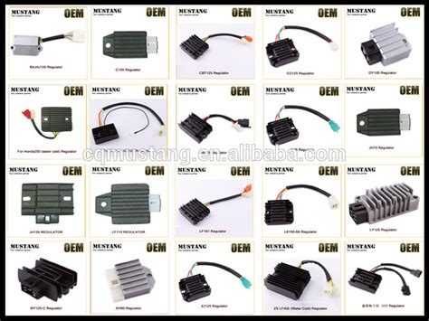 5 wire motorcycle voltage regulator rectifier motorcycle