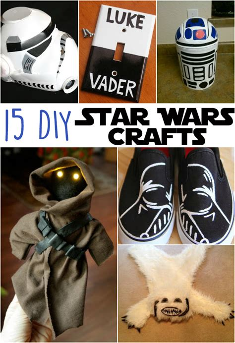 15 diy awesome wars crafts the craftiest
