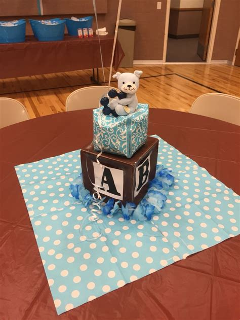 teddy baby shower centerpieces 25 best images about teddy block baby shower on baby showers baby blocks and