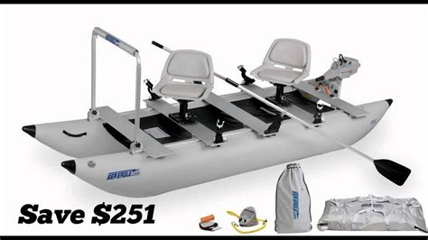 inflatable pontoon work boat inflatable pontoon boats for sale youtube