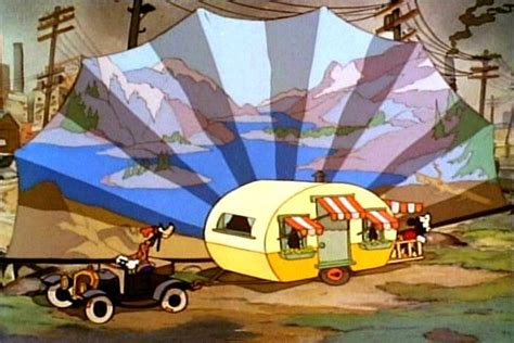 Rv Trailer Floor Plans mickey mouse had the coolest caravan ever