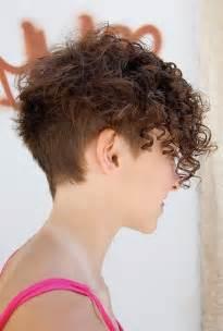 chic multi textured vivacious curly cut