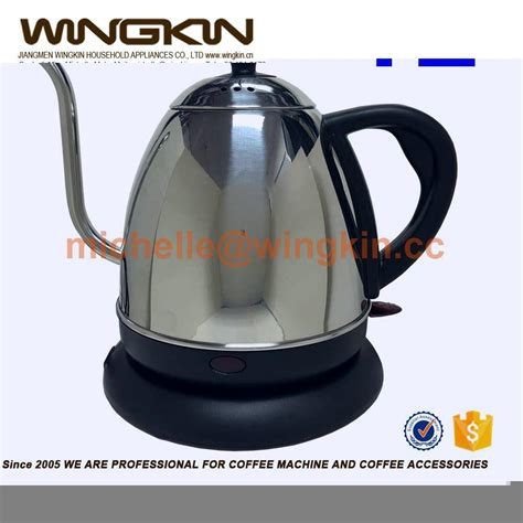 long skinny light bulbs long thin spout electric kettle with etl for coffee lover