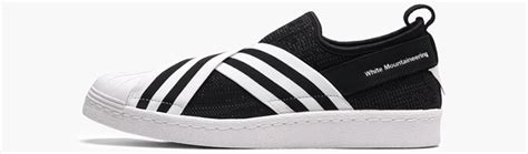Adidas Superstar Slip On X Mountaineering Whiteblack white mountaineering x adidas superstar slip by2880 by2879 by2881 b fastsole co uk