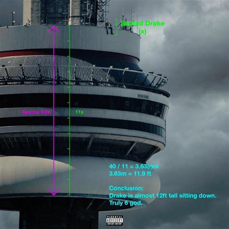 yes drake s new album cover is photoshopped toronto