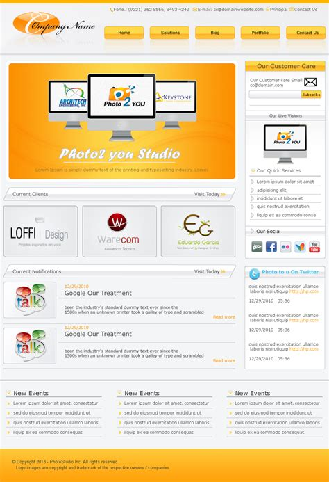 templates for website download fresh free psd website templates freebies graphic