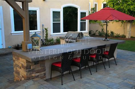 backyard bbq islands san diego landscaper western outdoor design build bbq