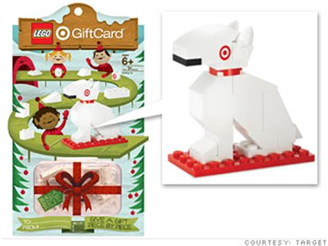 gift cards that smell light up and talk back target s lego dog card 6 cnnmoney com