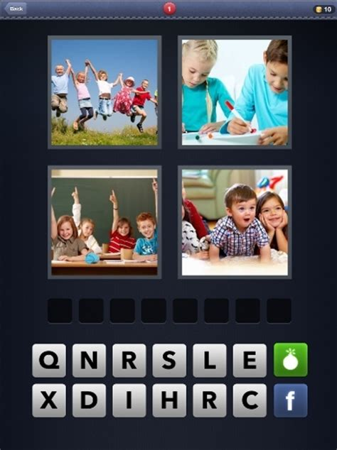 4 pics 1 word letters 4 create android in 30 seconds 1046