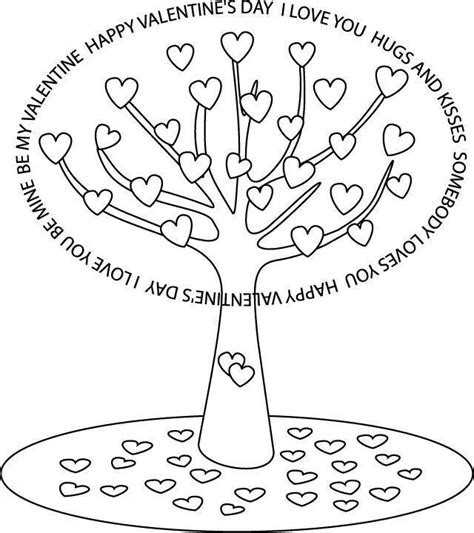 coloring page of st valentine 234 best dise 241 os arboles images on pinterest coloring