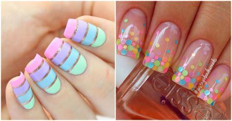 imagenes de uñas pintadas con colores pasteles luce tus u 241 as con estas ideas en color pastel yo amo los