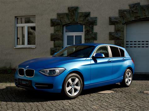 Bmw 1er Matt Blau by Vollfolierung Inkl Einstiege Bmw 116i 3m 1080 M227