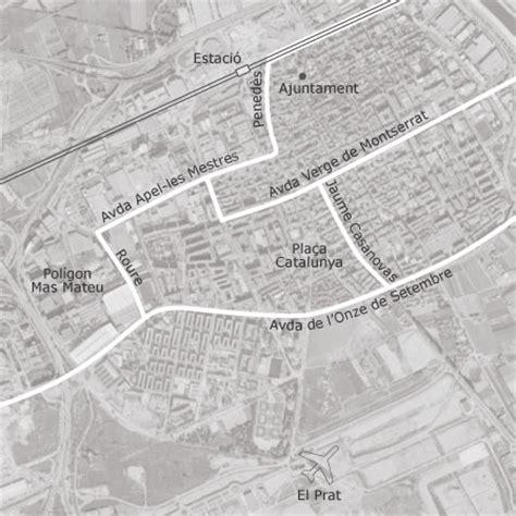 mapa de el prat de llobregat barcelona idealista