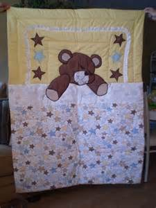 sleeping teddy quilt by itzsewtime on etsy