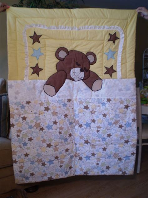 Teddy Quilts by Sleeping Teddy Quilt By Itzsewtime On Etsy