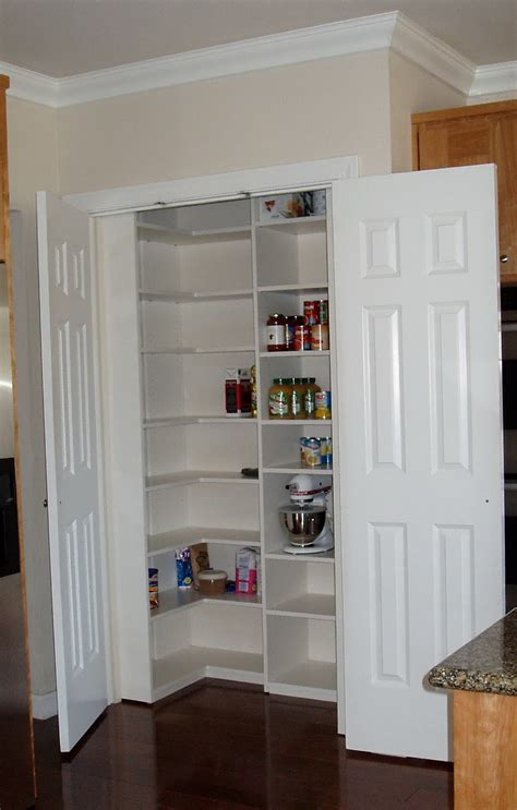 Kitchen Closet Design Ideas Pantry Closet Shelving Ideas Home Design Ideas