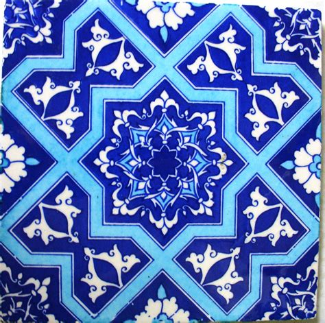 Moroccan Tile | the thrifty decorator painting moroccan tiles on a