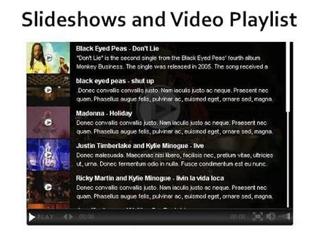 video playlist layout 15 free wordpress video plugins designmaz