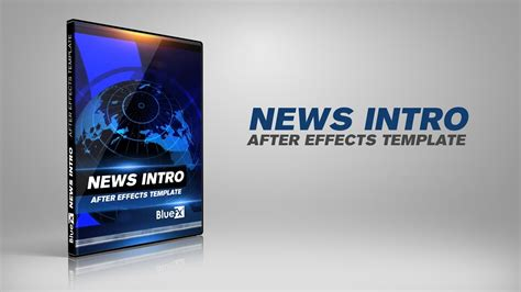 news intro opening after effects templates www bluefx