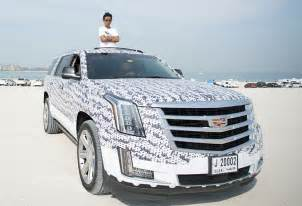 Who Own Cadillac A Yeezy Fanatic Customized His Own Cadillac Yeezy Truck