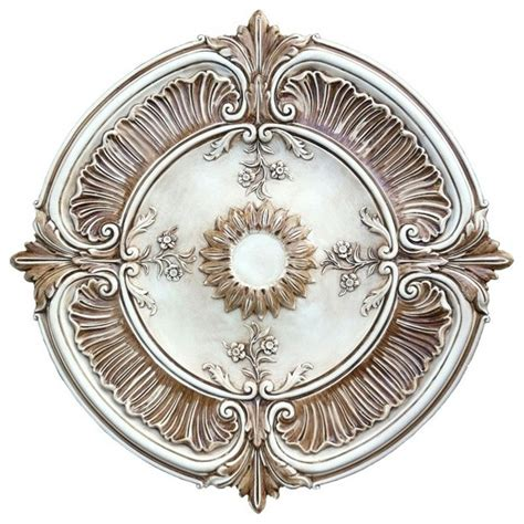 contemporary ceiling medallions lunardidecor painted attica acanthus leaf ceiling medallion contemporary ceiling