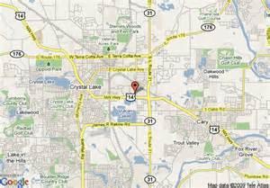 Comfort Inn Colorado Springs Map Of Comfort Inn Crystal Lake Crystal Lake
