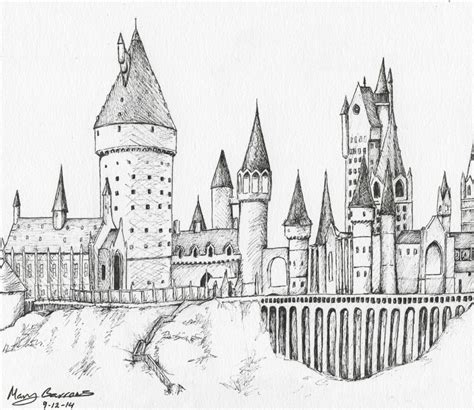 coloring pages of hogwarts castle hogwarts castle free colouring pages