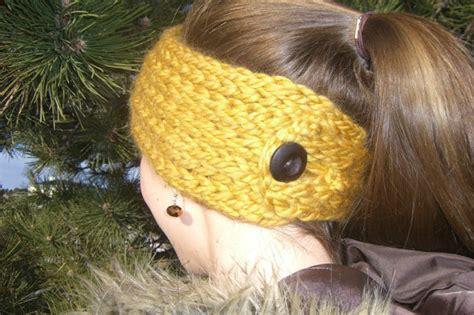 knitting loom ear warmer pattern loom knit headband patterns a knitting