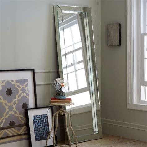 parsons floor mirror mirrored west elm
