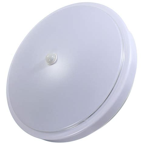 12w non dimmable pir infrared motion sensor flush mounted