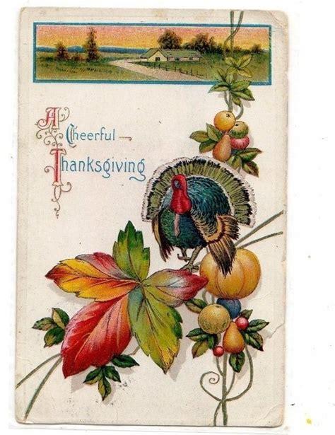 printable vintage thanksgiving cards 756 best vintage postcards images on pinterest